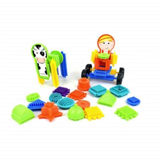 Bloko farma set od 50 kocka i 2 figure