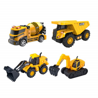 TZ vozila set od 5 mala gradbena vozila