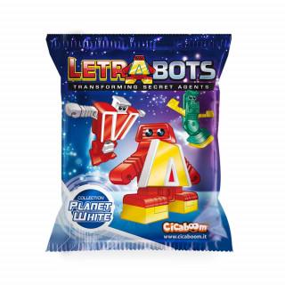 Letrabots roboti - slova