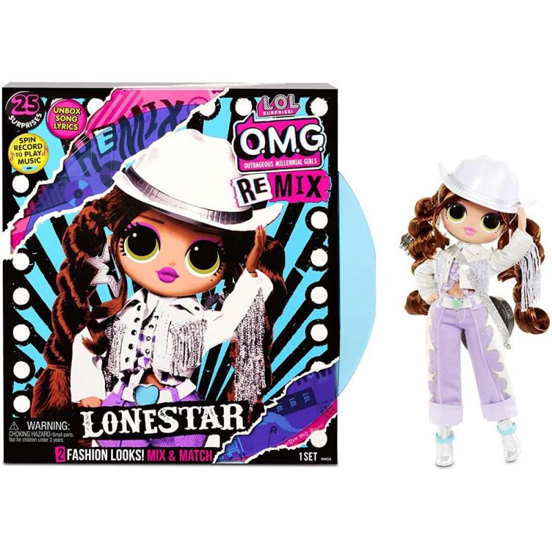 LOL Surprise OMG Remix lutka Lonestar