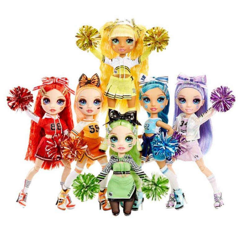 Rainbow High lutka navijačica ast