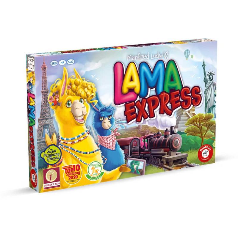 Piatnik Lama Expres družabna igra