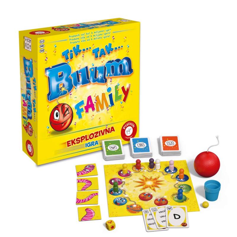 Piatnik igra Tik Tak Bum Family