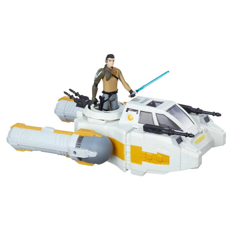 Star Wars delux vozilo s figurom Y-Wing