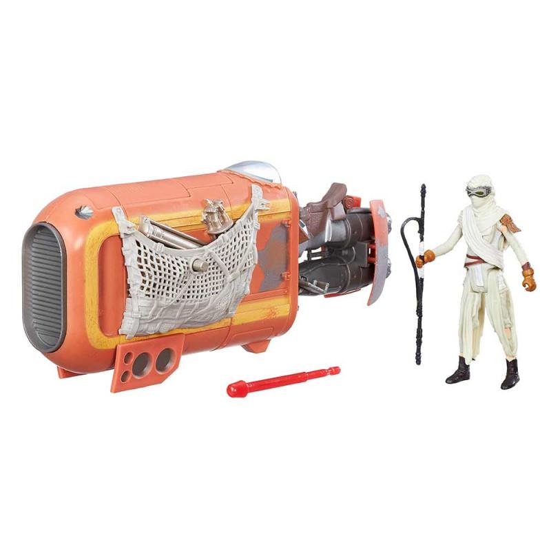 Star Wars delux vozilo s figurom Rey