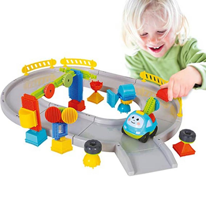 Bloko 43 kocke set kružni tok i autić