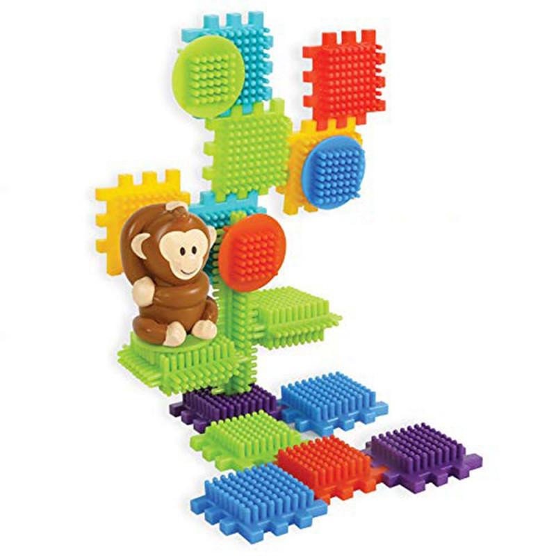 Bloko džungla 100 kocki i 3 figure 3D