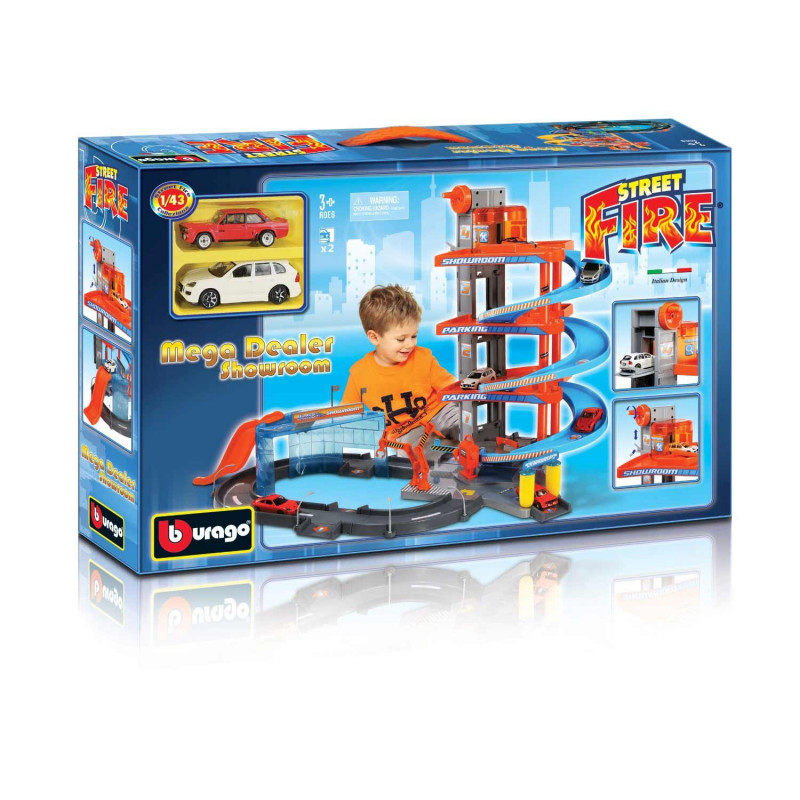 Burago Mega Dealer salon automobila 1:43