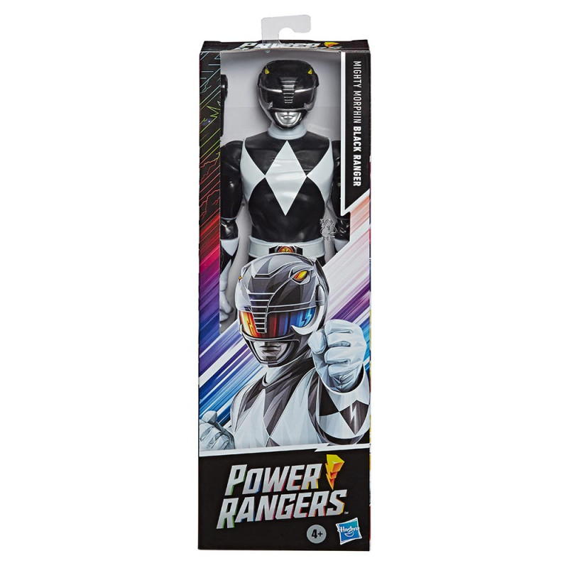 Power Rangers figura Crni Ranger 30cm