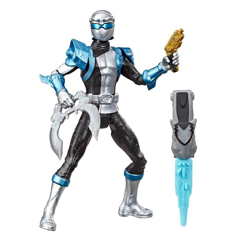 Power Rangers srebrni ranger s Morph-X