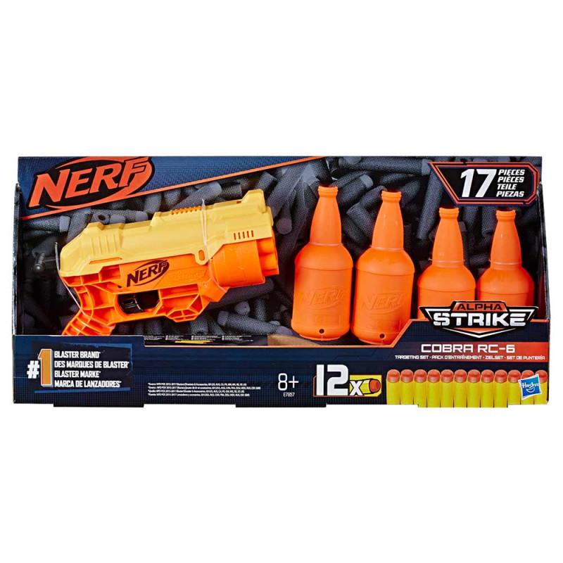 Nerf Alpha Strike Cobra RC6  set s metom