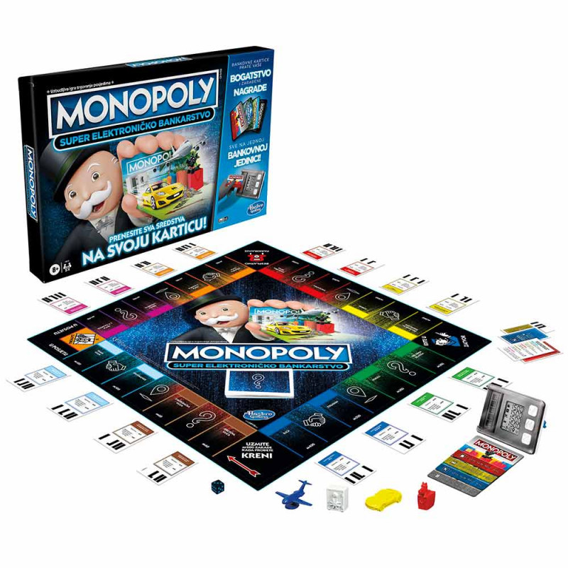 Monopoly Super elektroničko bankarstvo