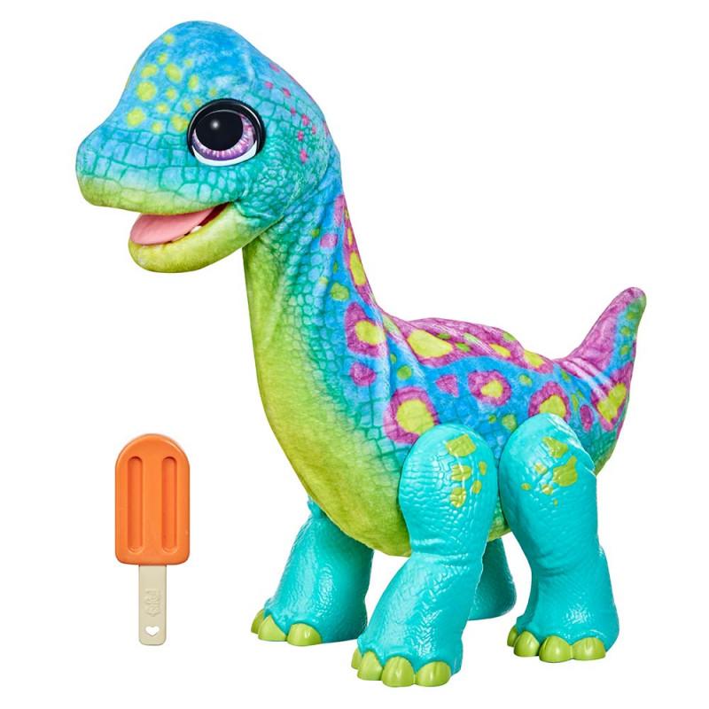 FurReal gladni Brontosaur Snackin Sam
