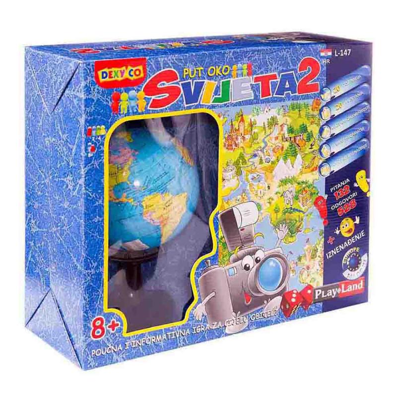 Put oko svijeta 2 edukativna igra