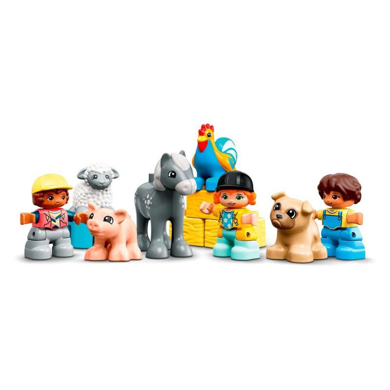 Lego Duplo staja, traktor i životinje