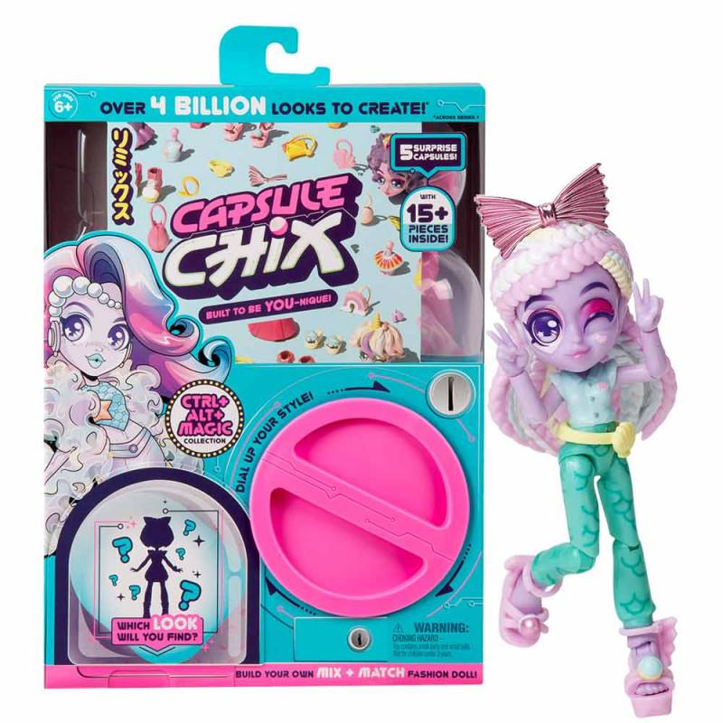 Capsule Chix Ctrl+ Alt+ Magic lutka