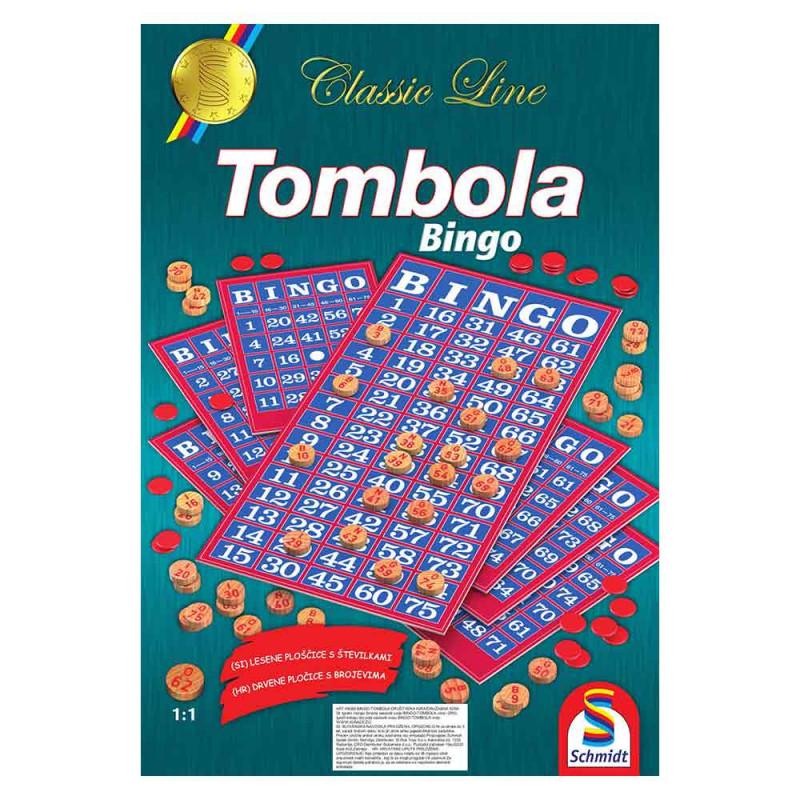 Schmidt Tombola-Bingo drvene pločice