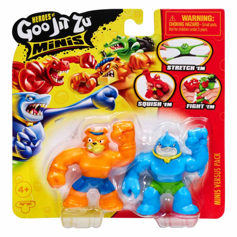 Goo Jit Zu mini heroj figura ast
